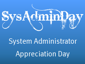 SysAdminDay banner